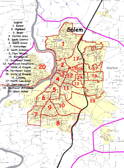 Neighborhood Resource Units of Salem, Oregon