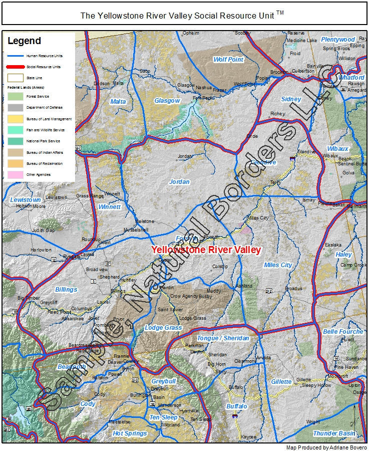 Yellowstone River Valley map - Social Resource Units of the Western on brazos river map usa, susquehanna river map usa, hudson river map usa, delaware river map usa, cheyenne map usa, yale university map usa, osage river map usa, yellowstone wolf territory map, united states map usa, salmon river map usa, baton rouge map usa, willamette river map usa, fish map usa, yosemite national park map usa, north america map usa, allegheny river map usa, continental divide map usa, boise map usa, yellowstone national parks montana maps, platte river map usa,